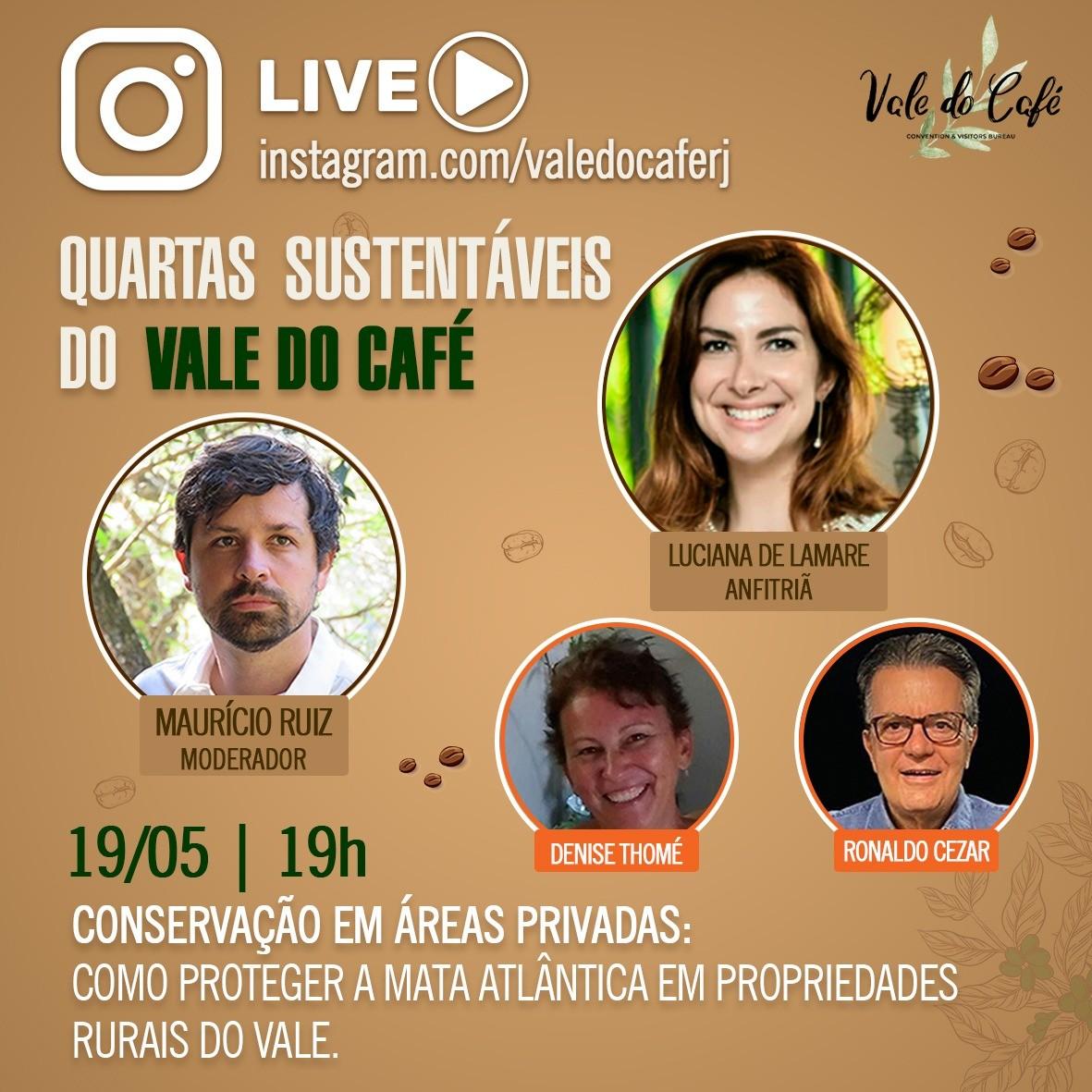 Transmitidas do Sul do Rio, lives gratuitas debatem sustentabilidade