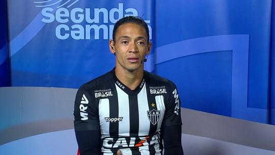 """Ricardo Oliveira diz que Atlético-MG precisa melhorar e ter mais atenção: """"Erros consecutivos têm nos prejudicado"""""""