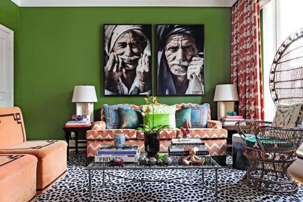Apartamento de Ana Lúcia Zambom, projeto de Nelson Kabarite e Luiz Otávio Debeus (Foto: Lufe Gomes/Editora Globo)