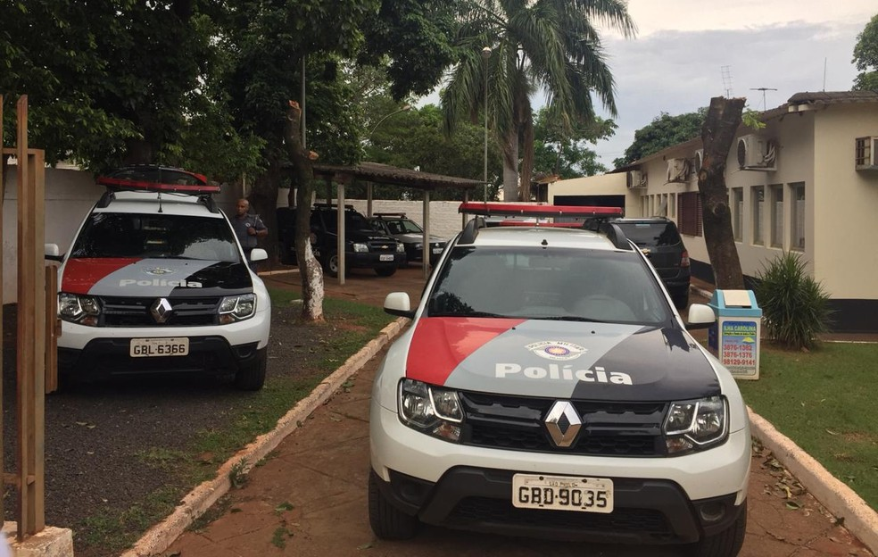 Ocorrência mobilizou equipes policiais em Paulicéia — Foto: Mariane Santos/TV Fronteira