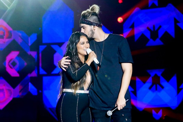 Luan Santana e Simone (Foto: Manuela Scarpa/Brazil News)
