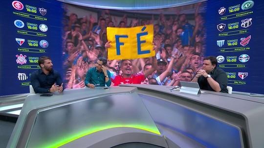 Troca debate torcida única em Cruzeiro x Palmeiras