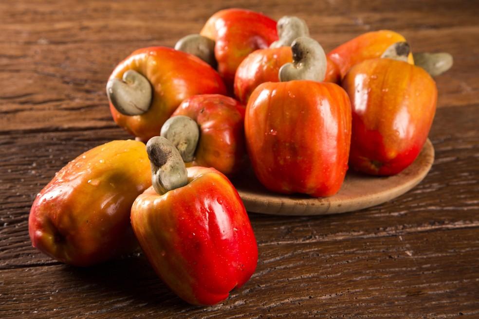 Além de reforçar a imunidade o caju tem ação antioxidante. — Foto: Shutterstock