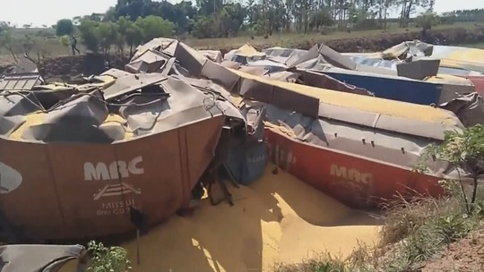 Concessionária apura descarrilamento de locomotiva em Urânia