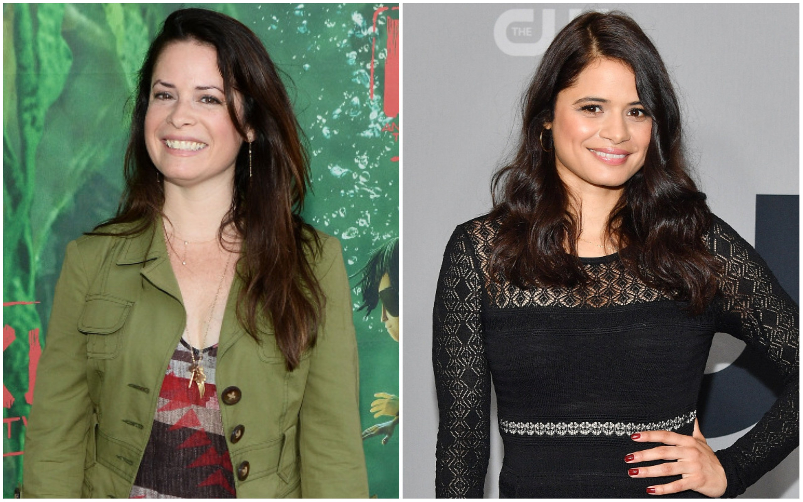 Holly Marie Combs e Melonie Diaz (Foto: Getty Images)