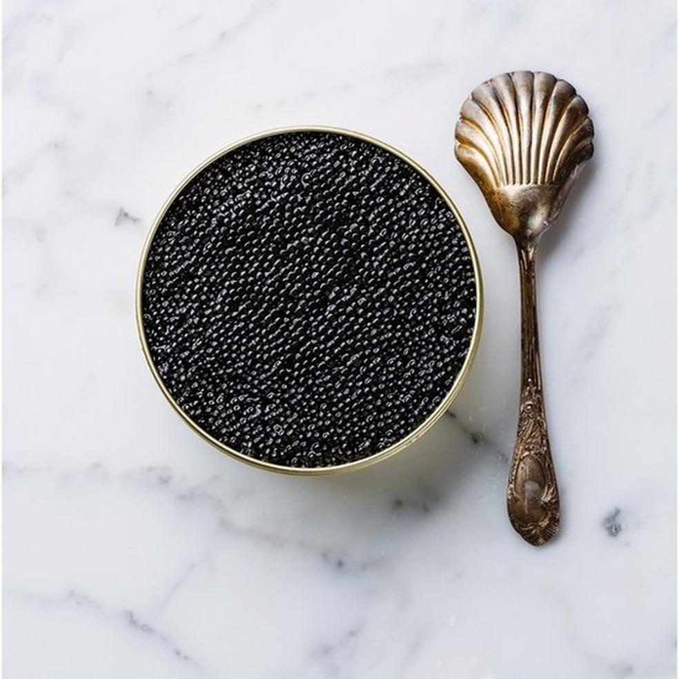 Por ser tão raro, o preço do caviar selvagem vai nas alturas — Foto: Getty Images