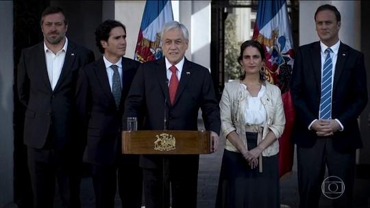 Governo chileno anuncia processo para elaborar uma nova Constituição