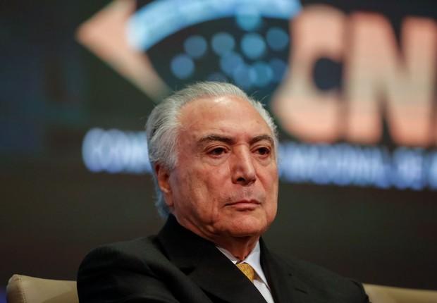Presidente Michel Temer (Foto: Marcos Corrêa/PR )