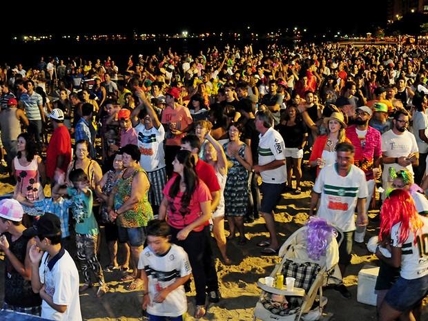 Apresentações culturais e shows tomam conta da folia em Balneário Piçarras (Foto: Prefeitura de Balneário Piçarras/Divulgação)