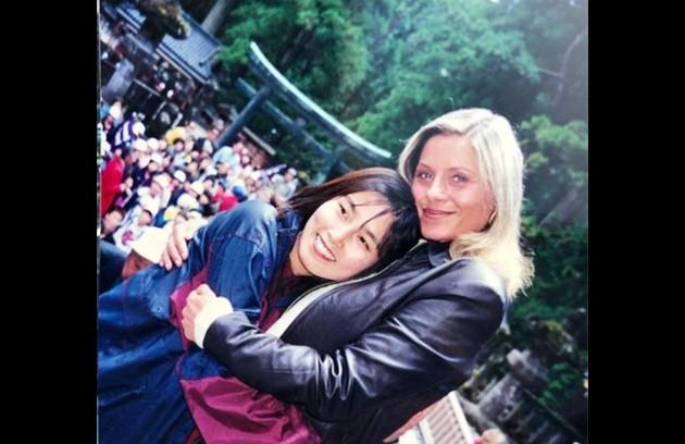 Vera compartilhou, ainda, fotos das gravações no Japão (Foto: Reprodução/Instagram)