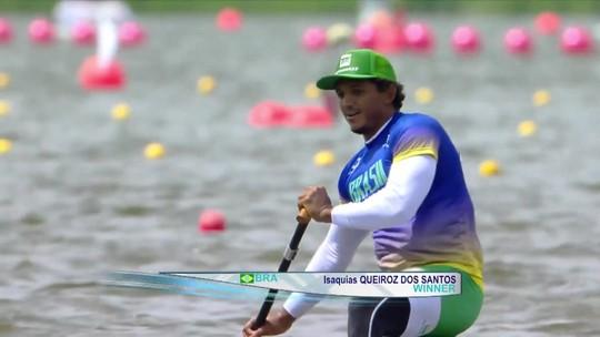 Isaquias Queiroz é campeão do C1 500m na etapa da Polônia da Copa do Mundo de canoagem