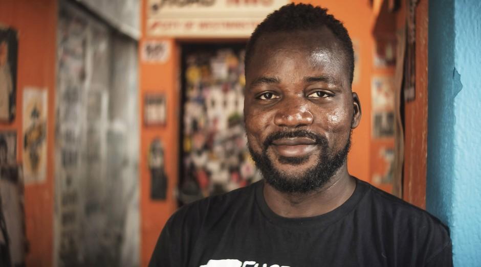 Pitchou Luambo, fundador do Congolinária (Foto: Luiz Maximiano)