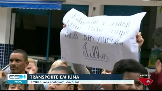 Estudantes de Iúna continuam sem ir a escola por falta de transporte escolar, no sul do ES