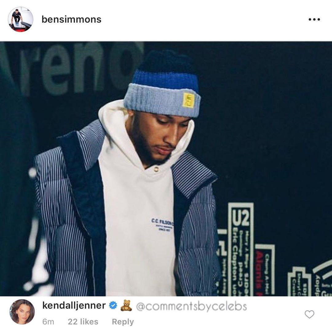 Instagram Ben Simmons (Foto: Reprodução Instagram)