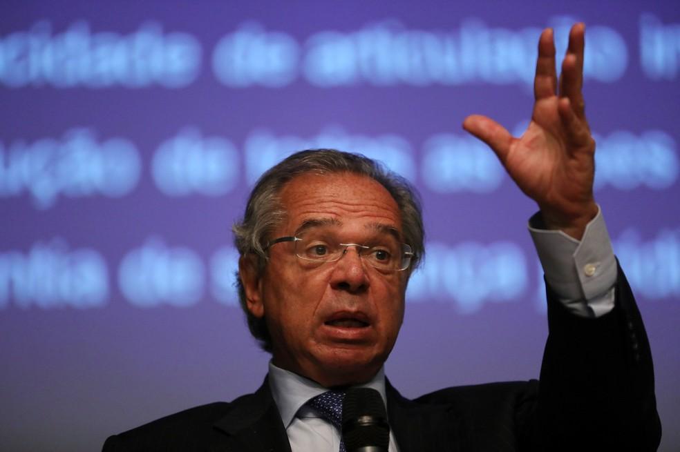 Ministro da Economia, Paulo Guedes â?? Foto: Pilar Olivares/Reuters
