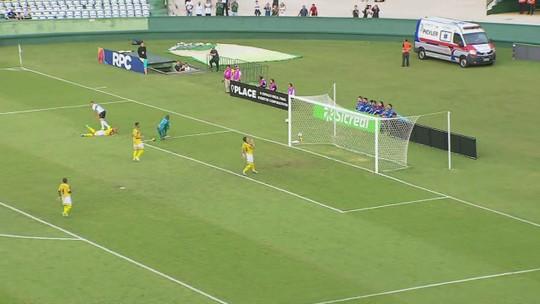Atacante Wanderley estreia pelo Coritiba e volta a jogar após mais de um ano