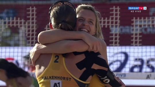 Larissa e Talita caem diante de campeãs olímpicas e ficam fora da final do Mundial