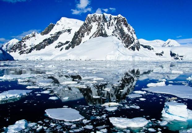 Canal Lemaire na Antártida ; aquecimento global ; mudanças climáticas ;  (Foto: Divulgação)