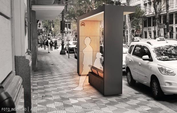 Projeto para o Arouche, em SP, conta com mobiliário e mais postes de iluminação (Foto: Divulgação)
