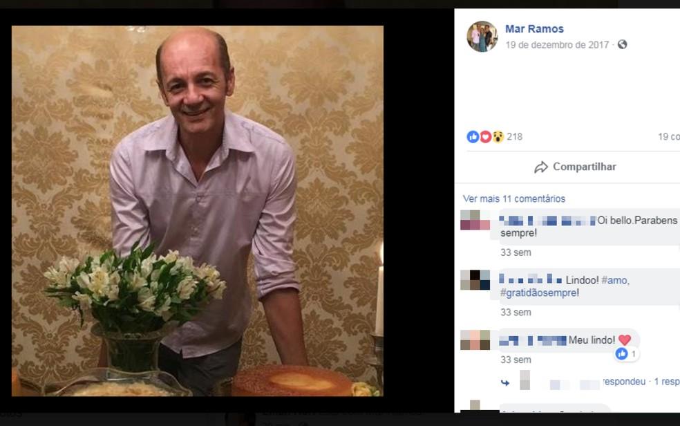 Estilista Mar Ramos morava em Itabuna há 15 anos (Foto: Reprodução/Redes Sociais)