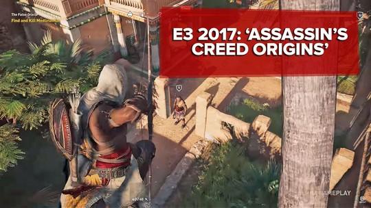 'Assassin's Creed Origins' se inspira em combates de 'Dark Souls' para tentar se reinventar; G1 jogou