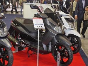 scooters (Foto: Rafael Miotto/G1)