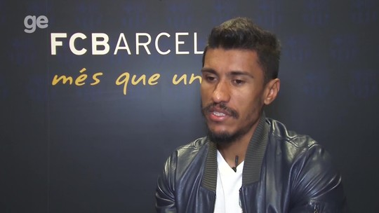 Com moral, Grêmio é alvo de perguntas de Messi e Suárez no Barça, revela Paulinho