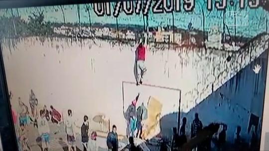 Detento é flagrado em vídeo tentando pular muro do Presídio Estadual de Camaquã