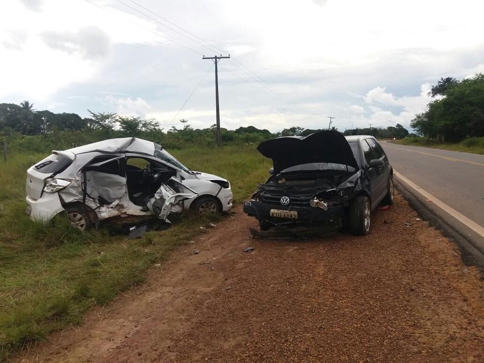 Acidente na PA-151 deixa motorista ferido, no nordeste do Pará. (Foto: Ascom / PRE)