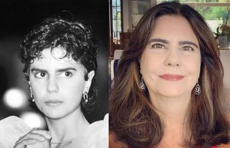 Longe da TV há mais de dez anos e dedicada ao teatro, Mayara Magri foi Helena, filha de Renato e Carolina Reprodução
