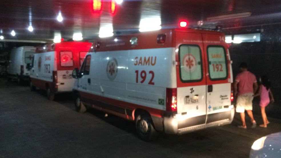 Hospital Walfredo Gurgel libera visitas após Justiça determinar retorno de vigilantes ao trabalho (Foto: Kléber Teixeira/Inter TV Cabugi)