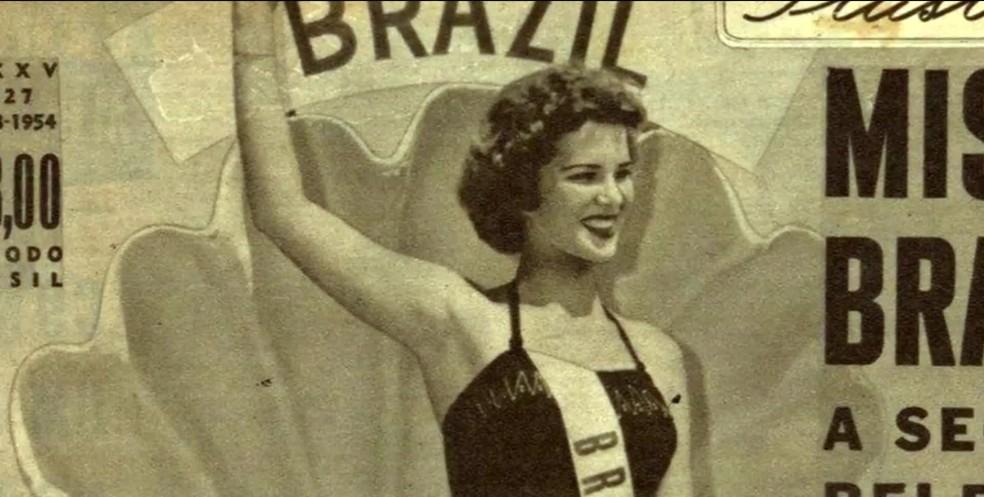 Martha Rocha foi capa de revistas ao ser eleita Miss Brasil — Foto: Reprodução/GloboNews