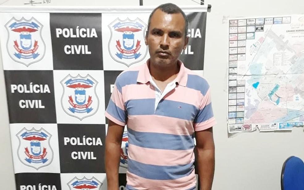 -  Cid Mauro da Silva, de 45 anos, era conhecido como 'maníaco da moto' e classificado como estuprador em série  Foto: Polícia Civil de MT/Assessoria