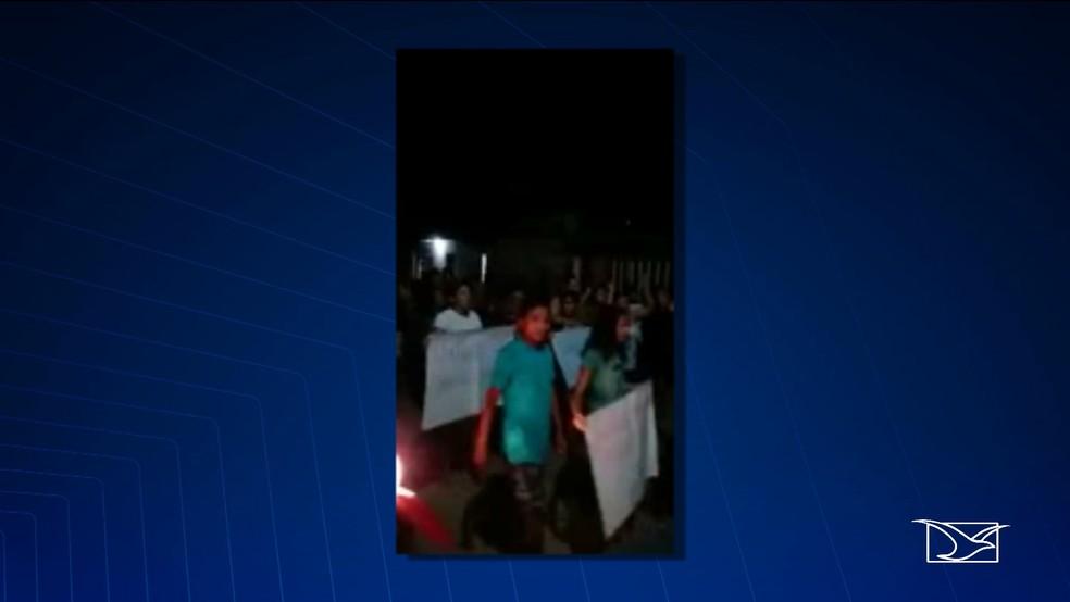 Moradores de Belágua (MA) estão se mobilizando em busca de tentar localizar o paradeiro do bebê Jonathan. — Foto: Reprodução/TV Mirante