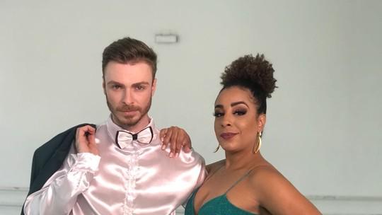 #DançaEmMovimento Reveja a apresentação da Bryce e do Juliander