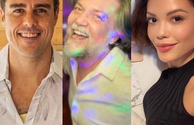 Atores como Joaquim Lopes, Kiko Mascarenhas e Vitória Strada adotaram novos hábitos na pandemia. Confira a seguir (Foto: Reprodução)