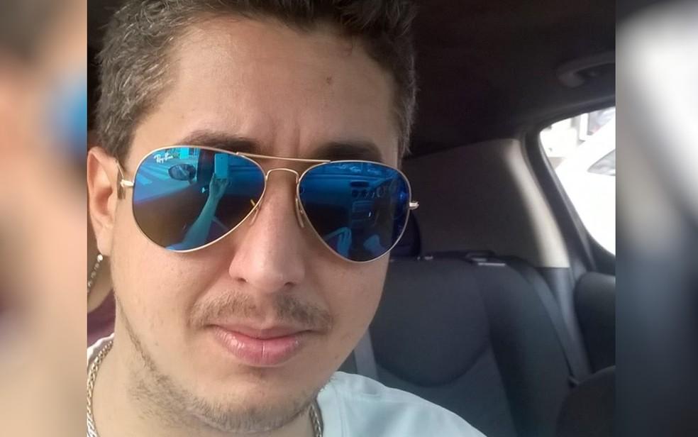 -  Ariel Ben Hur Costa Vaz morreu baleado em festa na UFG, em Goiânia  Foto: Reprodução/Facebook