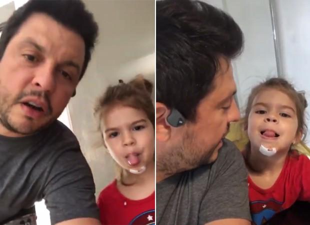 Ceará e Valentina Muniz (Foto:  Reprodução / Instagram)
