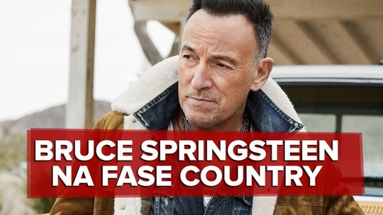 Bruce Springsteen reforça fase crua com 'Western Stars', seu 1º álbum mais country