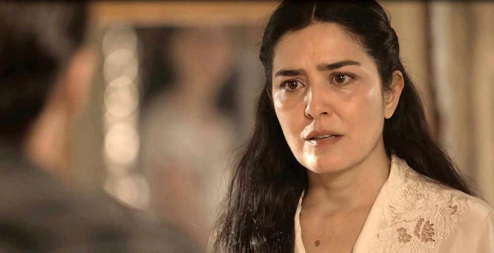 Delfina fica furiosa com a armação de Fernão e Tereza (Foto: TV Globo)