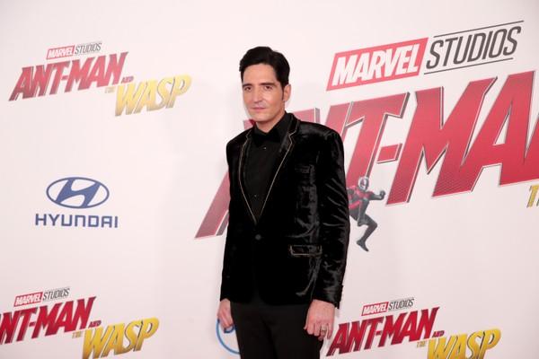 O ator David Dastmalchian no evento de lançamento de Homem-Formiga e A Vespa (2018) (Foto: Getty Images)