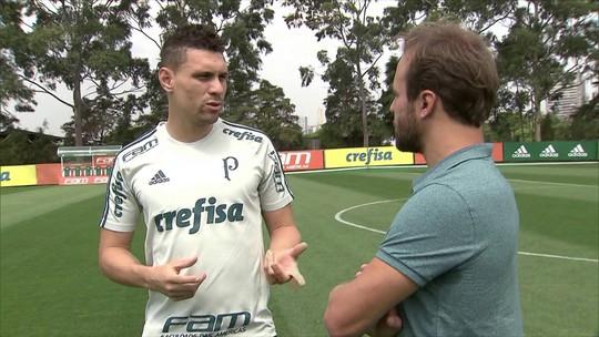 """Moisés reconhece que Palmeiras """"não deu liga"""", mas diz: """"Não foi por falta de entrega"""""""