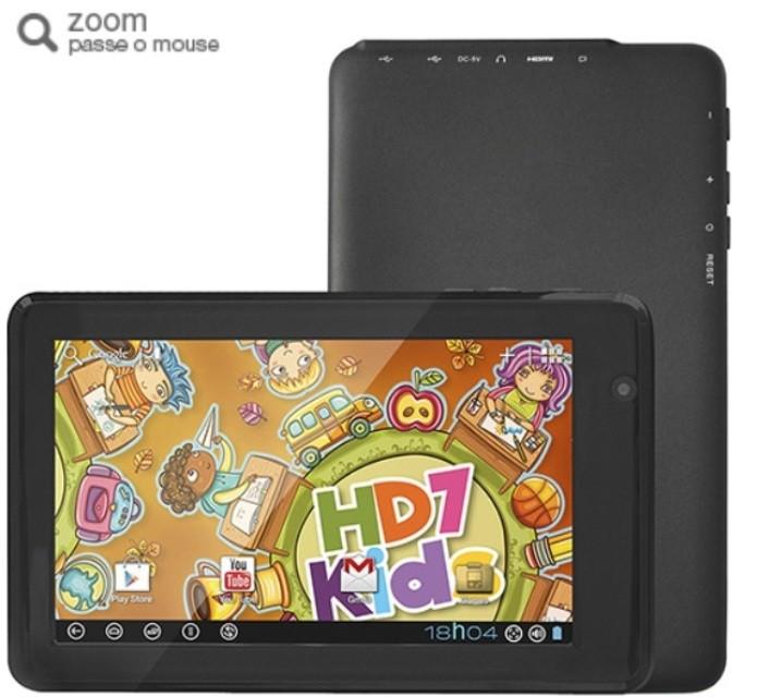 O tablet da DL também oferece jogos e aplicativos educativos (Foto: Divulgação)