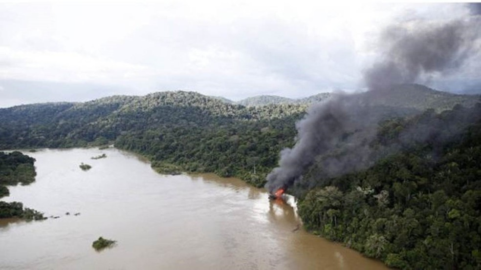 Dados sobre desmatamento servem de base para a elaboração de políticas públicas e acordos internacionais do governo brasileiro — Foto: Felipe Werneck/Ibama
