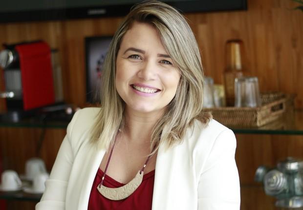 Cammila Yochabell, CEO e fundadora da Jobecam. Empresa entrou em programa de aceleração da Oracle e agora recebe investimentos de terceiros (Foto: Divulgação)