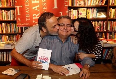 Marcos Breda, Flavio Marinho e Luciana Braga