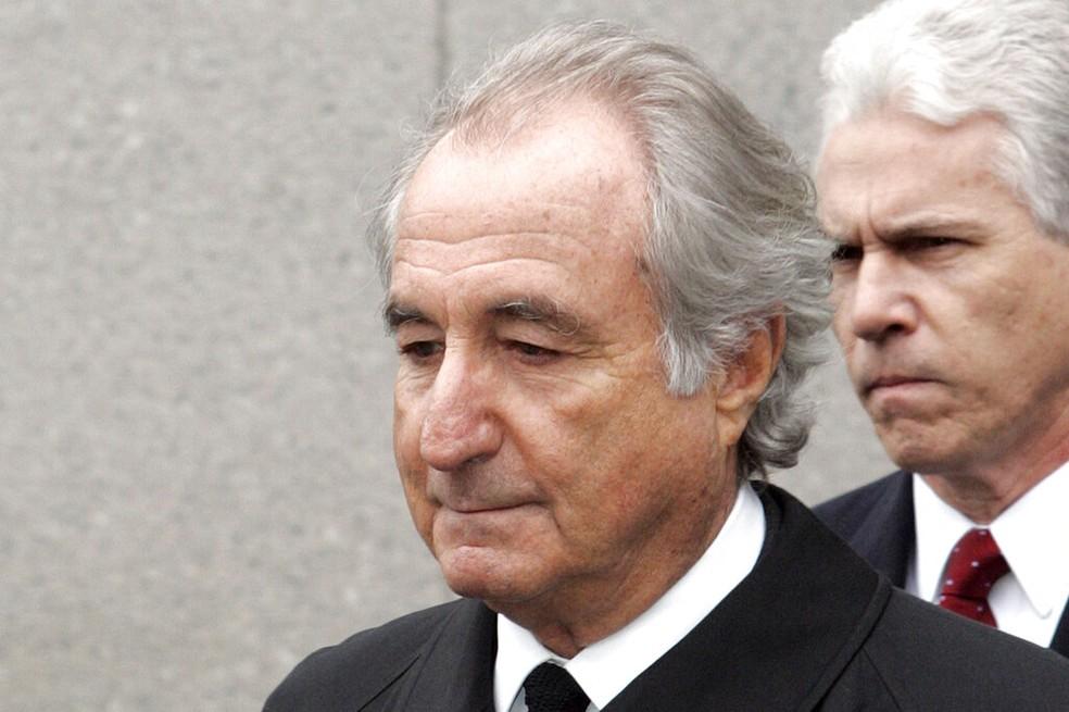 Bernie Madoff em imagem de 10 de março de 2009 — Foto: David Karp/AP