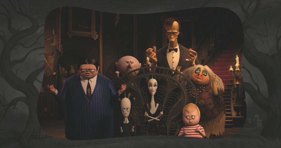 Cena de 'A Família Addams' — Foto: Reprodução