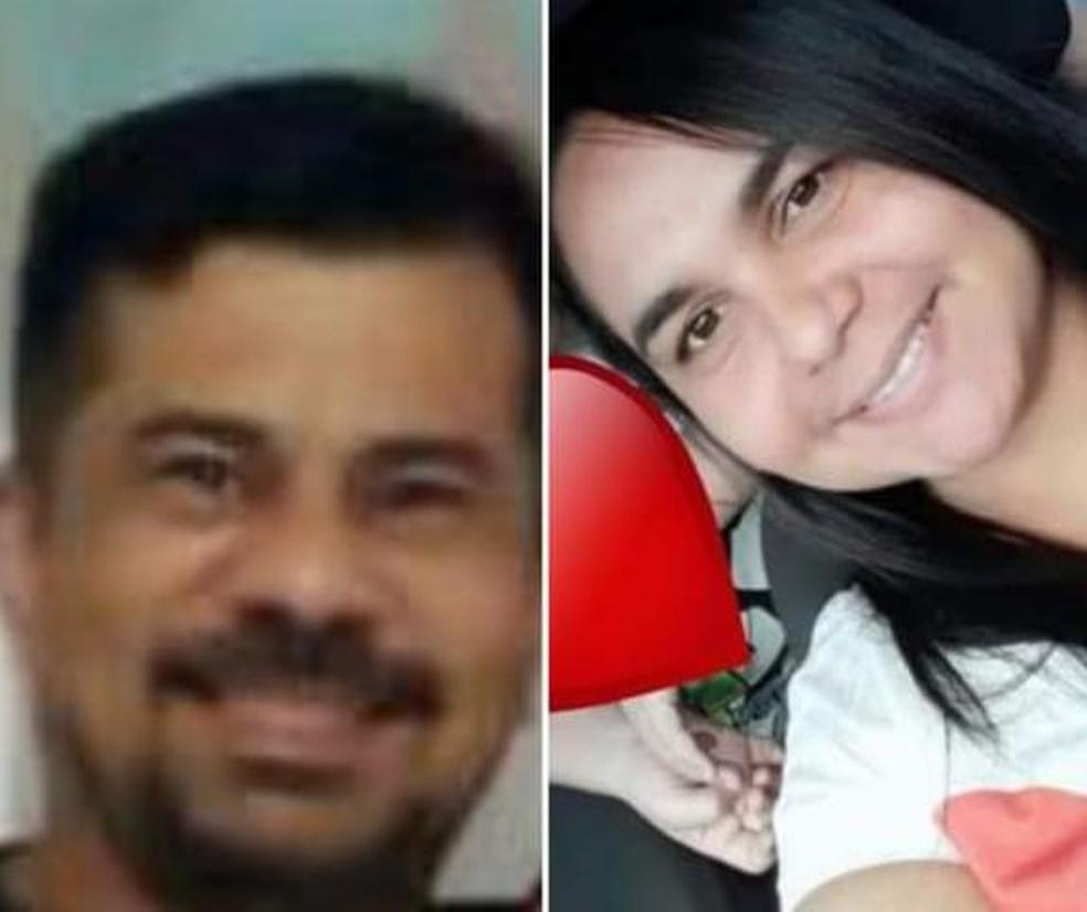 Casal desapareceu desde sexta-feira, após um suposto acidente de trânsito — Foto: Arquivo Pessoal