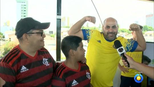 Flamengo x Grêmio: torcedores vivem ansiedade por jogo decisivo e prometem fazer festa na Paraíba